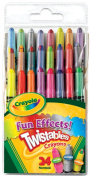 . 24 Mini Twistables Special Effect Crayons