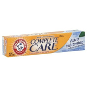 Arm & Hammer Complete Care Plus Whitening Fluoride Anticavity Toothpaste, Fresh Mint, 180ml