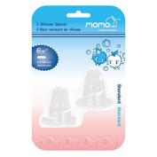 Momo Baby Standard 2-Pack Silicone Spouts