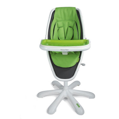 Mamas Papas Loop High Chair White Lime By Mamas And