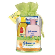 Johnson's Baby First Touch Gift Set 4 ct Caddy