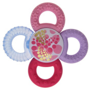 MAM Twister Teether - BPA Free - Pink