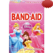 Band-Aid Decorative Adhesive Bandages, Disney's Princesses, Assorted, 20 Count