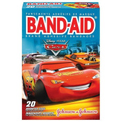 Band-Aid Brand Adhesive Bandages Cars Decorated Assorted Sizes 20 Count