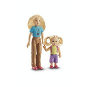 Fisher Price Loving Family Dollhouse Figures, Mom and Toddler