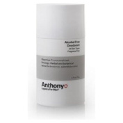 Anthony Logistics for Men Alcohol Free Deodorant Deodorants And Antiperspirants