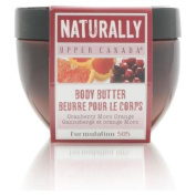 Upper Canada Cranberry Moro Orange Body Butter 200g