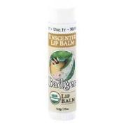 Badger Classic Lip Balm Sticks - All Natural & Certified Organic