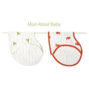 aden + anais Mod About Baby Muslin Burpy Bib