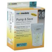 Medela Pump & Save Breast Milk Bags 50ea, 1 ea