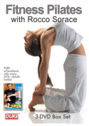 Fitness Pilates with Rocco Sorace (Body Tone / Intermediate Workout / Advanced Workout) 3-DVD Triple Pack with eCookbook [Region 4]