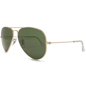 Ray Ban Sunglasses Classic Aviator Arista Gold.