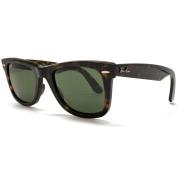 Ray-Ban RB2140 902 Original Wayfarer Sunglasses - Tortoise Frame - Green G-15 50mm Lenses