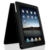 iPad Leather Flip Case - Black