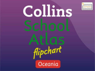 Oceania Flipchart (Collins School Atlas)