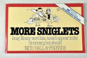 More Sniglets
