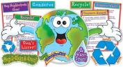 Teachers Friend TF-8010 Bullentin Board Set Love Our Planet Guide