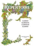 Repertoire for Music Schools, Clarinet