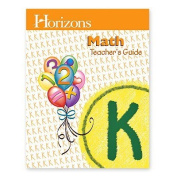 Alpha Omega Publications JKT030 Horizons Math Kindergarten Teacher s Guide