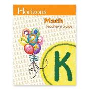 Alpha Omega Publications JKT030 Horizons Math Kindergarten Teacher s Guide