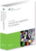 New Zealand Tax Legislation for Students 2011