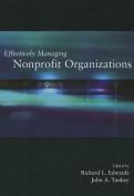 Effectively Managing Nonprofit Organizations