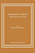 From Philo to Origen