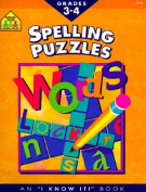 Spelling Puzzles Grades 3 and 4-Workbook