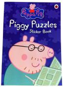 Piggy Puzzles Sticker Book