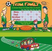Team Family 17-Month Calendar/Planner
