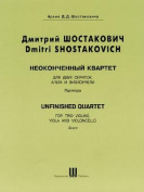 Unfinished Quartet: Score