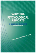 Writing Psychological Reports