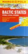 Baltic States (Estonia, Latvia & Lithuania) Marco Polo Map