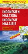 Indonesia, Malaysia Marco Polo Map