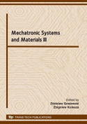 Mechatronic Systems and Materials III