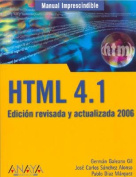 HTML 4.1 - Manual Inprescindible