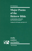 Major Poems of the Hebrew Bible: At the Interface of Prosody and Structural Analysis