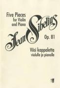 Five Pieces, Op. 81