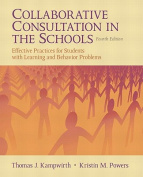 Collaborative Consultation in the Schools