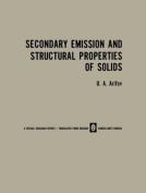 Secondary Emission and Structural Properties of Solids