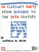 20 Clarinet Duets from Baroque to the 20th Century