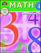 MILLIKEN PUBLISHING M-P3494 MATH REPRODUCIBLES GRADE 4