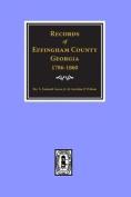 Records of Effingham County, Georgia