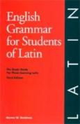 English Grammar for Students of Latin [LAT]