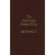 The Cambridge Pocket Diary 2011-2012