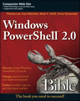 Windows PowerShell 2.0 Bible (Bible)
