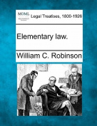 Elementary Law.
