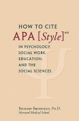 How to Cite APA Style 6th in Psychology, Social Work, Education, and the Social Sciences