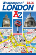Weatherproof Handy Map of London