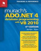 Murach's ADO.NET 4 Database Programming with VB